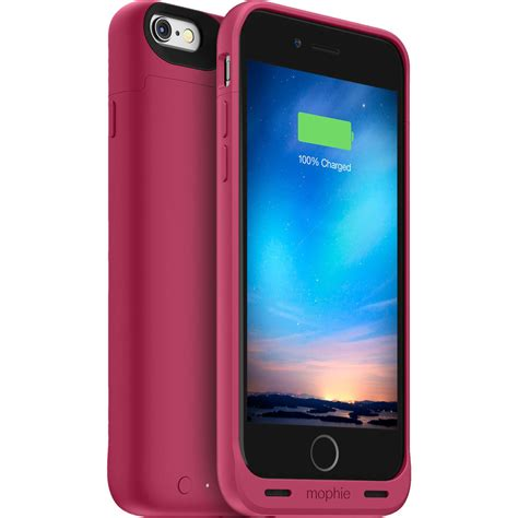 h iphone 6 mophie juice pack reserve battery for iphone 6 6s 3369 b h