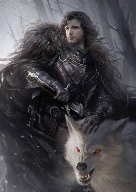 of thrones fan jon and ghost of thrones fan of