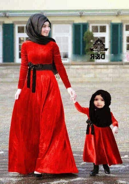 Model Baju Muslim Ibu Dan Anak Perempuan 25 model baju ibu dan anak perempuan terbaru 2018