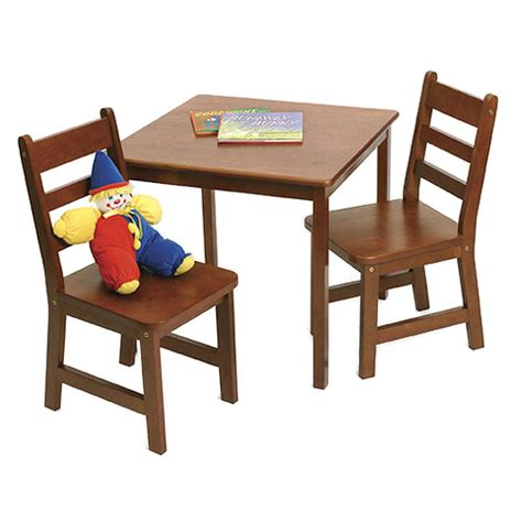 childrens wooden table and chairs cherry in furniture