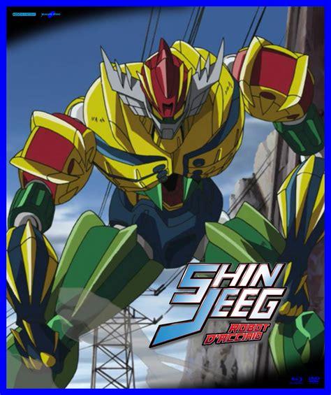 jeeg robot anime on blu ray shin jeeg robot d acciaio