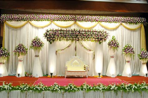 Christian Wedding Reception Decorations by Rainbow Decoration Kasaragod Decoration Work Taker Addkerala