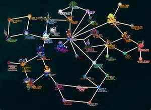 Kingdom Hearts World Map kingdom hearts world map quot old quot by nakashimariku on deviantart