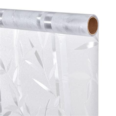 Sichtschutzfolie Fenster 100 Cm Breit by Casa Pro 174 Sichtschutzfolie Milchglas Bambus 100 Cm X 1