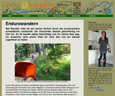 Motorrad Abenteuer Magazin by Svenja And The City Svenja Im Motorrad Abenteuer Magazin