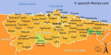 asturias cantabria regional map 2067184156 asturias travel guide