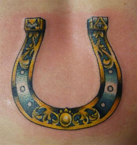 horseshoe tattoos designs ideas and meaning tattoos for you