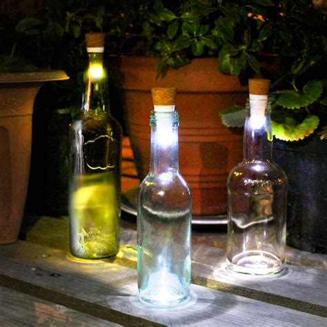 Cool Housewarming Gifts led bottle cork turn empty bottles into lamps the