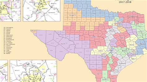 texas federal district court map federal court orders texas voting map changes ahead of 2018
