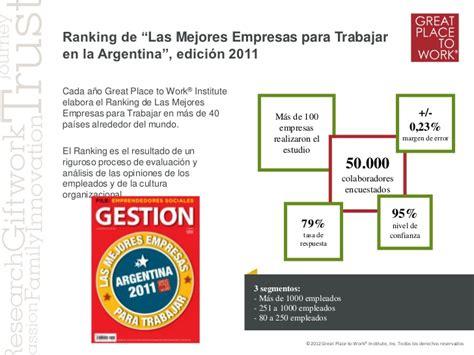 Mba Argentina Ranking by Cu 225 Les Los Beneficios De Ser Un Excelente Lugar Para