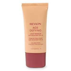 revlon age defying light makeup with botafirm spf30