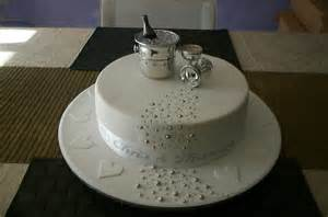 Home Design Tips by Engagement Cake 2 My First Fondant Covered Cake Made For