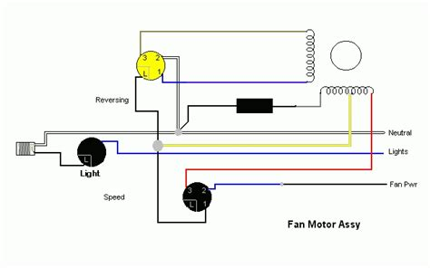 ceiling fan 3 speed switch wiring diagram wiring