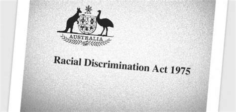 section 19 human rights act cover of racial discrimination act 1975