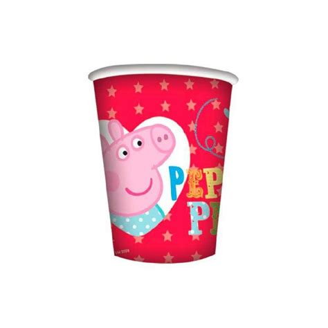 peppa pig piatti e bicchieri bicchieri peppa pig e george festa compleanno bambini