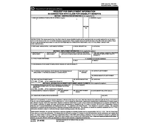 Veterans Administration Background Check Form Us Department Of Veterans Affairs Design Bild