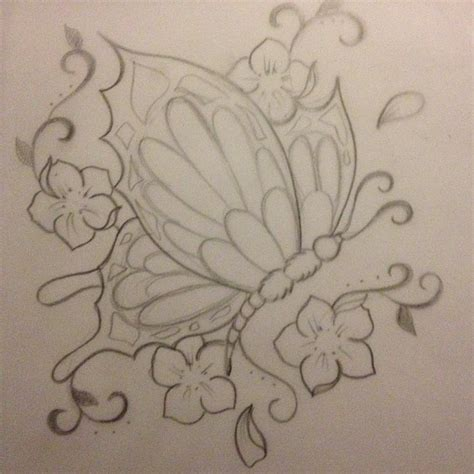 pattern tattoo background black butterfly tattoo design with white background