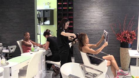 Hair Manicure Di Salon blowout manicure pedicure chicago streeterville hair nail