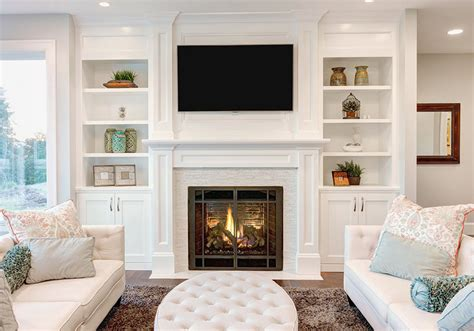 Living Room Fireplace Built Ins Small Living Room Ideas Decorating Tips To Make A Room