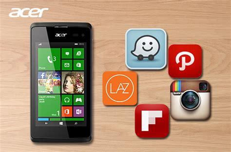 Harga Acer Windows Phone 5 aplikasi windows phone penunjang gaya hidup