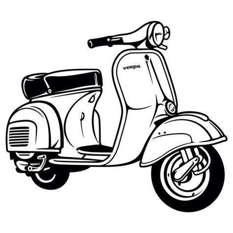 vinilos moto vinilo decorativo moto vespa teleadhesivo