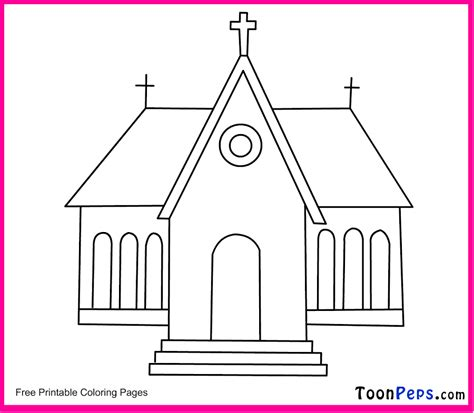 easy church coloring pages coloring pages of a church az coloring pages