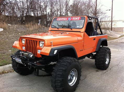 custom jeep custom built jeep yj with comal customs vortex spray