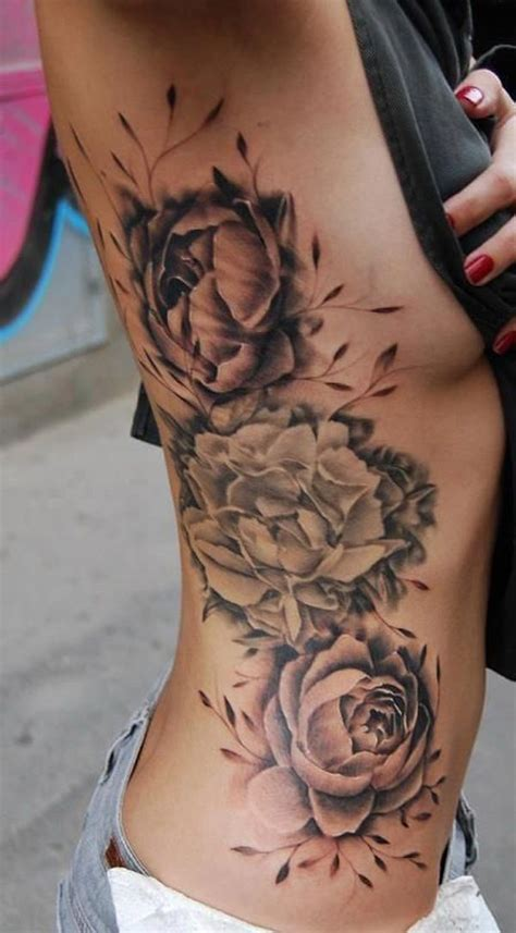 tattoo between ribs and hip 25 best ideas about rose rib tattoos on pinterest