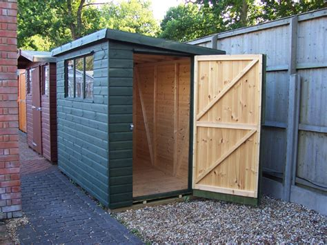 Build On Site Storage Sheds by Orkshire Garden Shed Centre Hshire Pent Shed Range