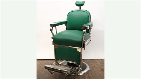 Theo A Kochs Barber Chair by 1950s Theo A Kochs Barber Chair Restored J94 Los