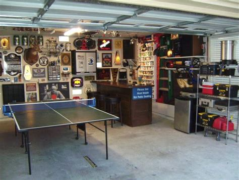 Decorating Ideas For Dining Room Walls popular man cave garage man cave garage