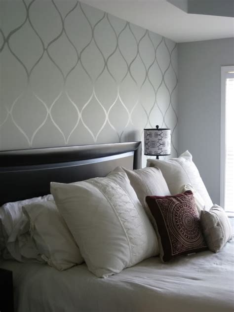 stencils for bedroom walls dare to be different 20 unforgettable accent walls