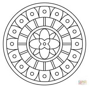 Vous Aimerez Peut &234tre Aussi Les Coloriages Des Cat&233gories Mandalas  sketch template