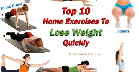 Exercises For Home To Lose Weight by 10 Best Workouts For Weight Loss Self