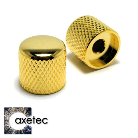 Gold Guitar Knobs guitar parts by axetec guitar knobs