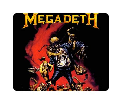 Kaos Band Metal Megadeth Mega7 17 best images about vic rattlehead on heavy metal artworks and cryptic writings