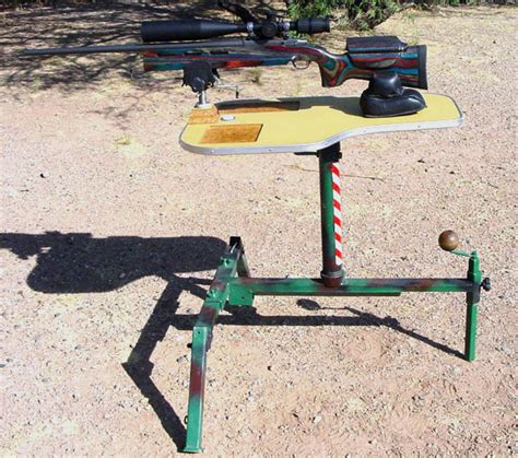 rifle bench rest plans rsi large shooting projects