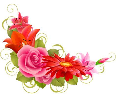 imagenes en png de flores jenn recursos esquineros de flores para fotos png