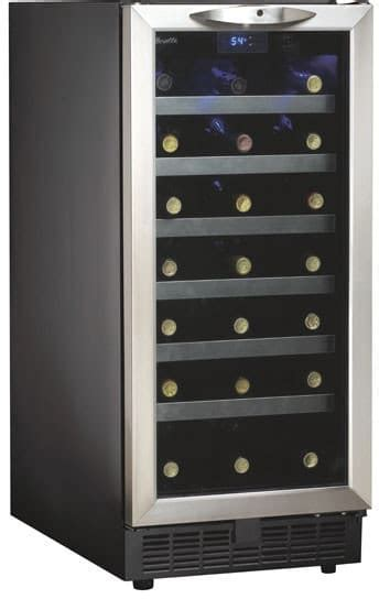 Danby DWC1534BLS 15 Inch Built in Wine Cooler with 34