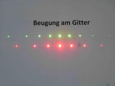 beugung am gitter optik