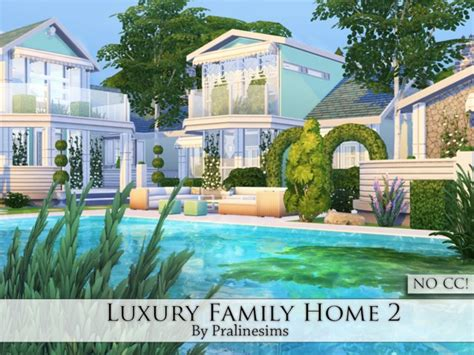sims 2 luxury homes luxury family home 2 by pralinesims at tsr 187 sims 4 updates