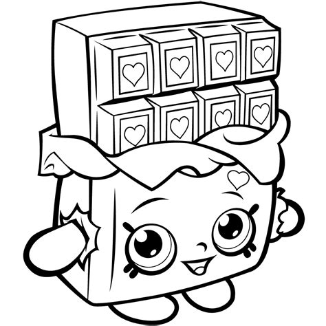 shopkins cake coloring pages 40 printable shopkins coloring pages