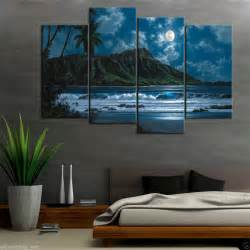 Home Decor Canvas Art hd canvas print home decor wall art painting hawaiian
