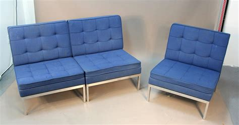 3 piece sofas sale three piece knoll sectional sofa or three lounge chairs
