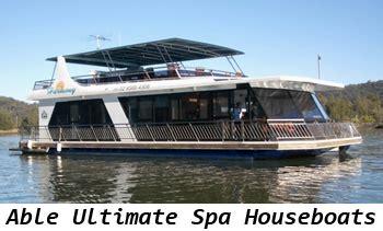 fishing boat hire hawkesbury river able spa houseboats able hawkesbury house boats