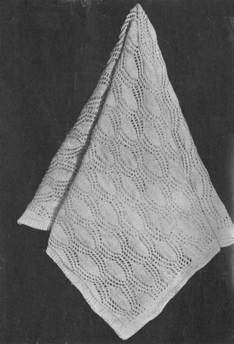 pattern for apple leaf vintage 1950s apple leaf baby shawl heirloom knitting