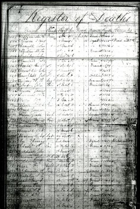 Prison Records Family Tree Friday Confederate Records About Union Pows Narations