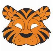 Mascara Tigre II Grintoy Masacara Eva Infantil