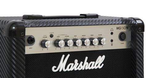 Marshall Mg15 Cfr marshall mg 15 cfr carbon fibre reverb wzmacniacz gitarowy