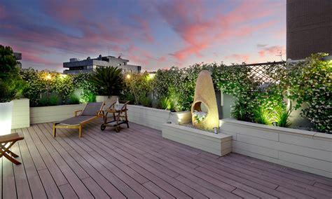 terrazze design decoraci 243 n exterior 191 preparada para disfrutar de la terraza